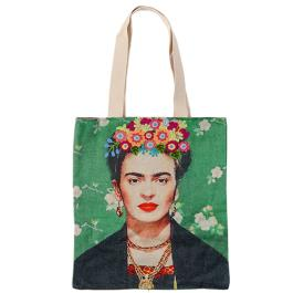 Frida Canvas Bag - Black Shawl - Multicolour