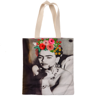 Frida Canvas Bag - Evening Dress - Multicolour