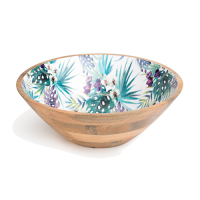 Orchid Bowl - Large - Multicolour