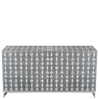Arrow Mother of Pearl Sideboard - Grey