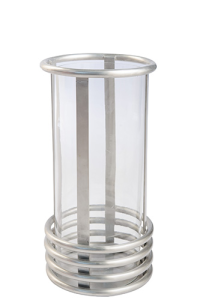 Hurricane Lamp - Small - Pewter