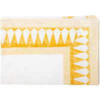 Diamond Tablecloth - Small - Haldi Yellow