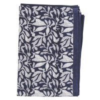 Batik Tablecloth - Medium - Navy Bue