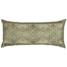 Phulkari Embroidered Cushion - Green