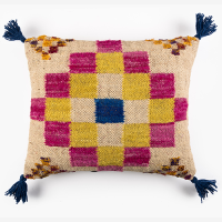 Checkerboard Cushion - Multicolour