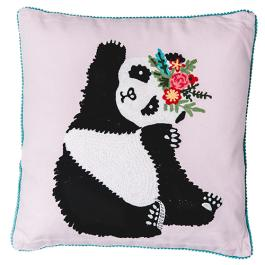 Panda Cushion - Multicolour