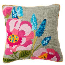 Poppy A Cushion - Multicolour