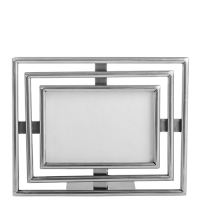 Art Deco Photo Frame - Medium - Pewter