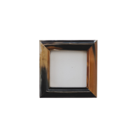 Horn Photo Frame - Small - Brown / Black