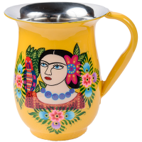 Frida Jug - Single Parrot - Yellow Multicolour