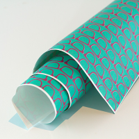 Scandi Paper - Glasses - Turquoise / Purple
