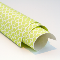 Scandi Paper - Honeycomb - Pale Green