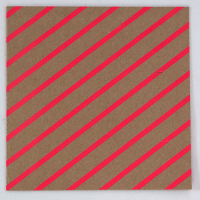 Fluoro Greeting Card - Diagonal - Pink