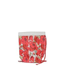 Miracle Crushed Bag - Small - Red Multi