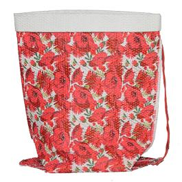 Miracle Crushed Bag - Medium - Red Multi