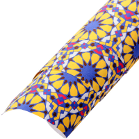 Morocco Wrapping Paper - Yellow / Purple