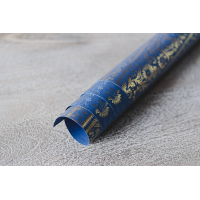 Sari Wrapping Paper - Navy Blue