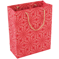 Celestial Gift Bag - Medium - Red / Pink / Gold