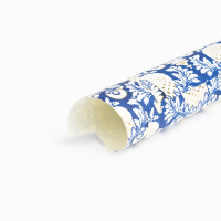 Pomegranate Wrapping Paper - Royal Blue