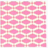 Array Greeting Card - Pink