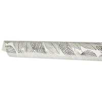Foil Leaves Wrapping Paper - Ivory / Silver