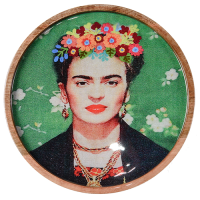 Frida Tray - Black Shawl - Multicolour