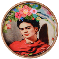 Frida Tray - Red Scarf - Multicolour